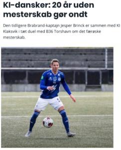 2 kampe tilbage – interview med bold.dk