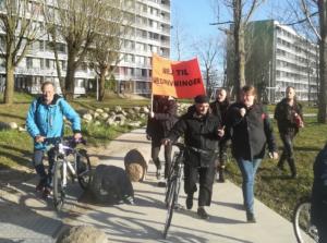 Gellerup-beboere protestvandrer mod nedrivningsplaner
