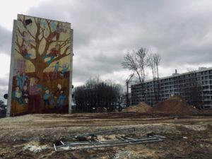 Kunstner Thomas Kruse reflekterer over fremtiden for gavlmalerierne på Gudrunsvej