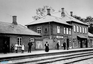 Jernbanen gjorde Brabrand til en livlig stationsby