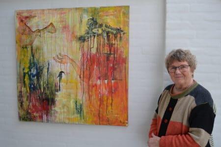 Nu skal Bente Kjeldsens billeder have nyt hjem