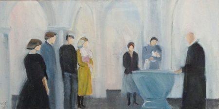 Kunstudstilling i Sognegården åbner på søndag