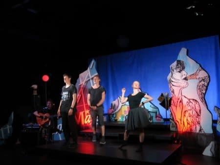 OMG! Teaterfestival på Eutopia Stage blev indledt tirsdag aften
