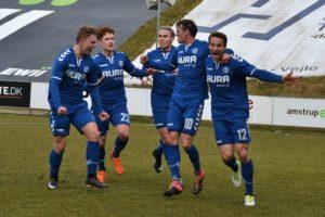 Brabrand og FC Roskilde i tæt kamp om én plads i 1. division