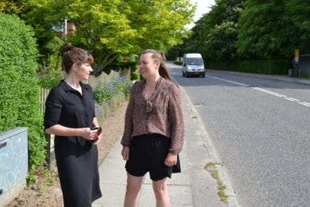 Beboere: Hejredalsvej er som en motorvej