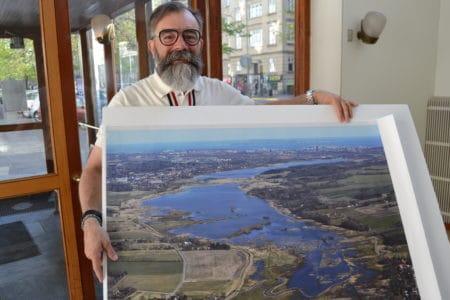 Stadsarkitekt støtter ideen om et søbad ved Brabrand Sø