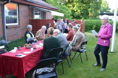 Grundloven fejret i Lyngby med morgenkaffe, taler og fugletur