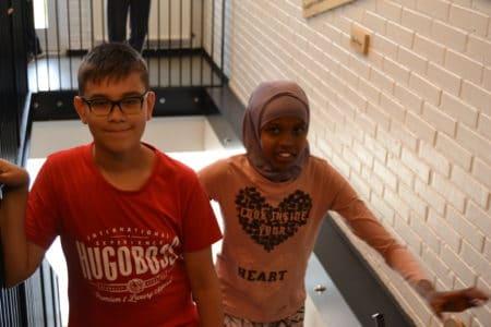 Trappen et symbol på sammenhæng på Sødalskolen