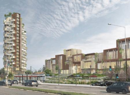 Store planer ved City Vest: Brabrand kan få det første rigtige højhus
