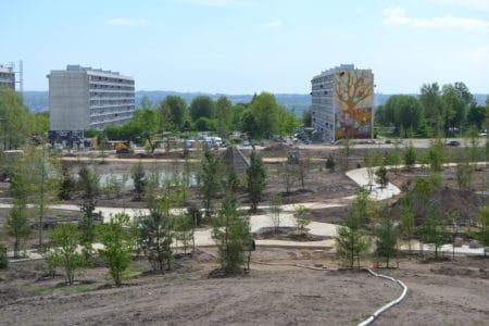 Tag med på rundtur i Gellerups nye bypark