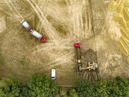Fotoserie: På vej mod en kunstgræsbane i Brabrand