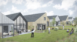 Voksne udviklingshæmmede får deres egen bolig på Birkebakken