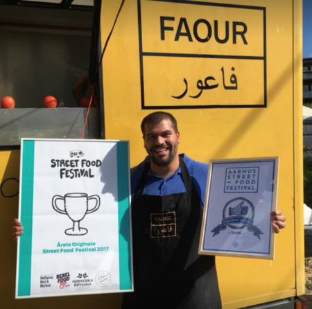 Mustafa Faour stolt over at være publikums favorit