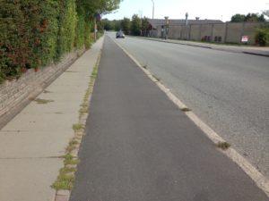 Godt nyt om ujævn cykelsti på J.P. Larsens Vej