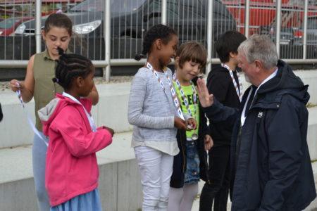 Medaljer og håndklap til OL-vinderne på Sødalskolen