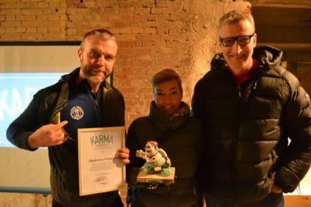 Projekt Brabrand IF Kunstgræs løb med Karmaprisen