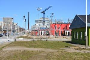 Masser af byggeri på vej langs Gellerups nye bygade