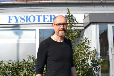 Lars Chr. Schmidt har fortsat behandlinger i Brabrand Fysioterapi