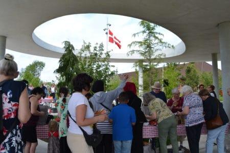 Grundloven blev fejret i byparken og ved Brabrand Sø