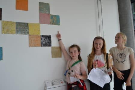Indtryk fra mødesteder i Gellerup blev til kunstværker