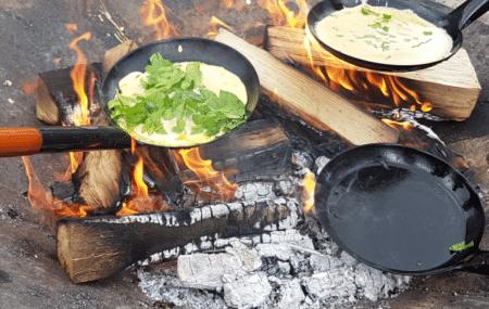 Oplev den vilde Skjoldhøjkile og lav pandekager over bål