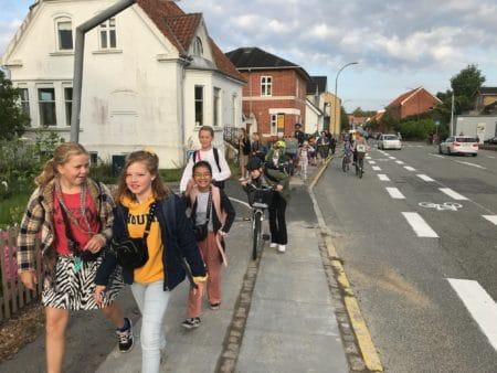 Slut med morgen-kaos foran Engdalskolen