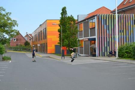 Toiletbygning giver plads for nybyggeri på Engdalskolen