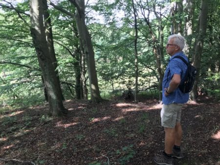 Per Falk vil skabe forbindelser i naturen ved Helenelyst