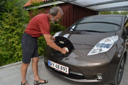 """""""Jeg er fuldstændig vild med tanken om at ha´ en forureningsfri bil"""""""