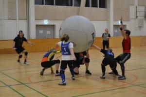 Kin-ball – et socialt spil for hurtige fødder
