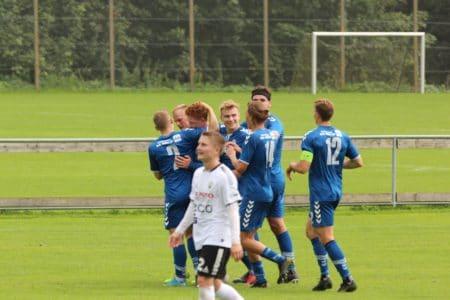 Forsvarsspiller Malte Færge reddede et point til Brabrand
