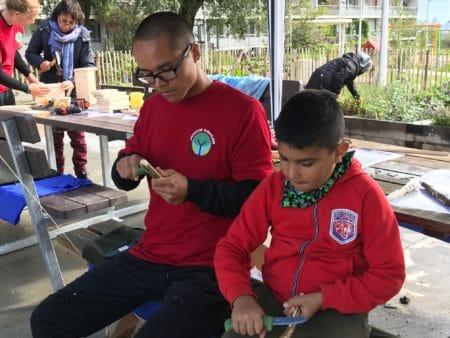 Fælleshaven er et nyt fristed for Gellerup-børn
