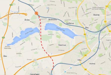 Analyse: Banegård i Årslev vil ligge for langt væk fra Aarhus midtby