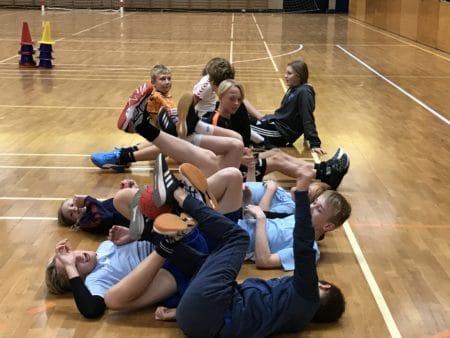 Unge BIF-håndboldspillere fik træning mod mobning