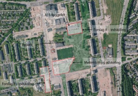 Ny skole i Gellerup kan blive integreret i byparken