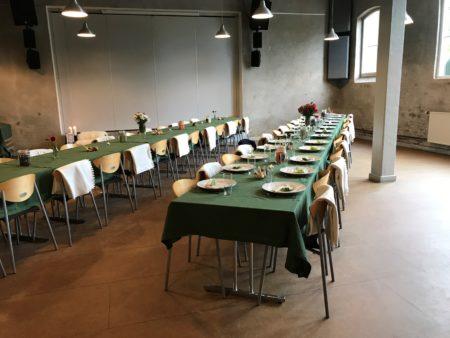 Aarstiderne inviterer til fællesspisninger på Gasværket