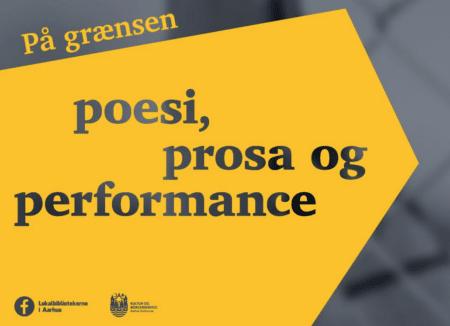 Poesi, prosa og performance på Gellerup Bibliotek