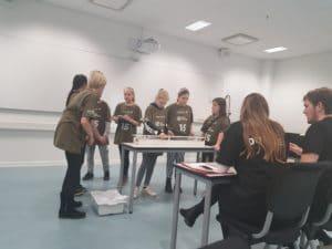 Elever fra Sødalskolen sætter skub i tunnel-projekt