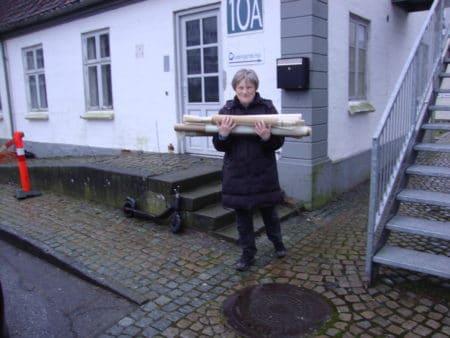"""""""Et fantastisk fund"""": Knud Blach Petersens arkiv fundet i kælder"""