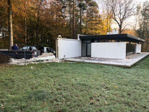 Aarhus Kommune: Nedrevet mur på Lyngbakkevej skal genopføres
