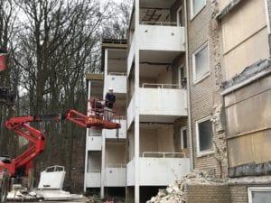 Renovering af Hans Broges Parken begyndte med vandskade