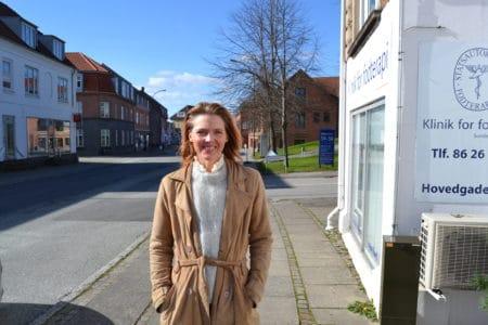 Ny butik på Hovedgaden: Garn, god stemning og fællesskab