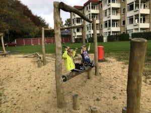 Brabrand i Børnehøjde 9: Legepladsen ved Søvangen