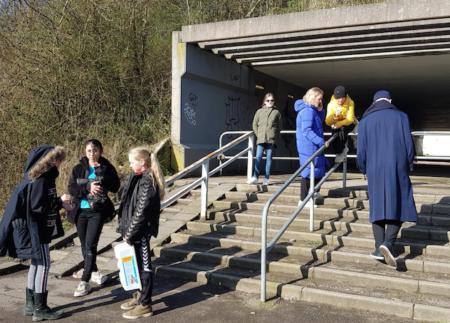 Tunnel under Silkeborgvej får tegninger og lys-sensorer