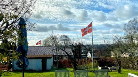 Idé fik vinger: Flaget gik til tops over store dele af Brabrand