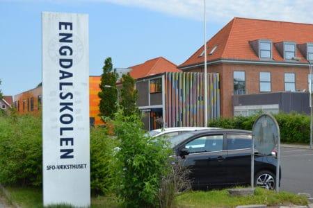 Ny hverdag på Engdalskolen: God plads og frisk luft