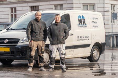 Rami Ahmad fra Dortesvej blev månedens håndværker