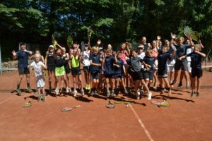Klar til traditionsrig tenniscamp i Brabrand Bakker