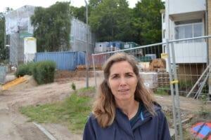 """Renovering af Hans Broges Parken: """"Uholdbart at leve på en byggeplads"""""""