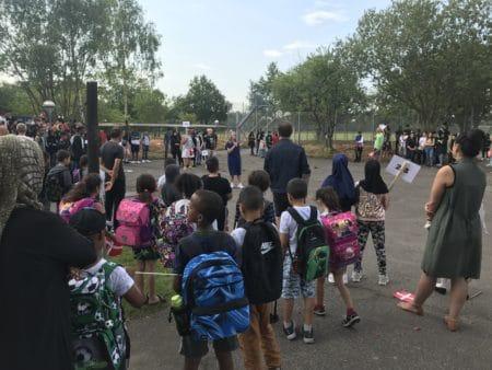 Sommerfugle i maven: Klar til ny skoledag på Ellehøjskolen